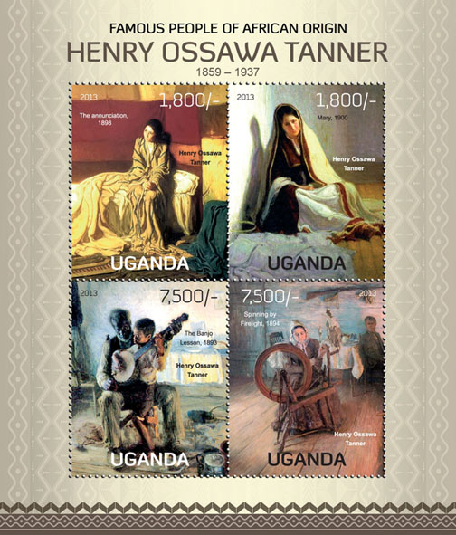 H. O. Tanner - Issue of Uganda postage stamps